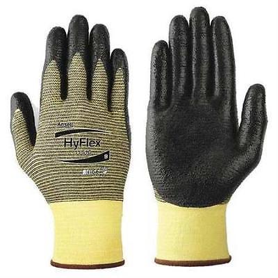 Cut Resistant Gloves, Yellow/Black, M, PR