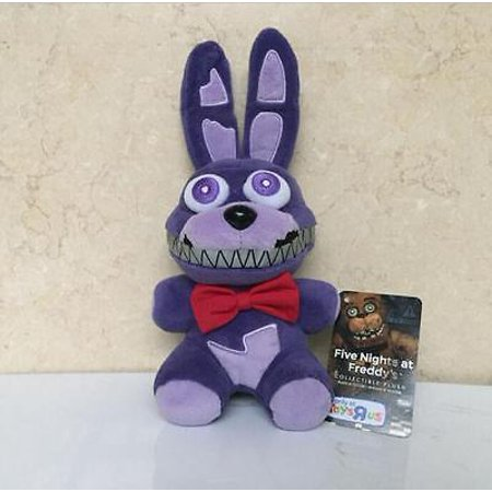 - Hot NEW Five Nights at Freddy's FNAF Horror Game Plush Dolls Kids Plushie Toy 7 Foxy,Bear,Bonnie,Mangle,Clown,Chica