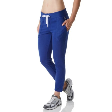 Women's Soffe 5370V Juniors French Terry Boyfriend Capri Jogger Soffe Fleece Sweatpants