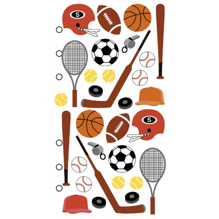 Sticko Stickers-Sports Equipment Sticko Stickers-Sports Equipment