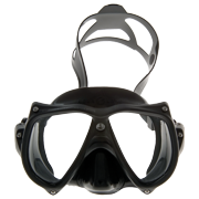AquaLung Unisex-Adult Teknika Mask OSFA Black