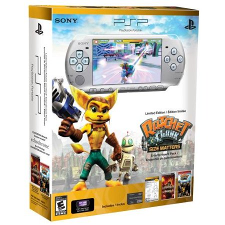 Ptp System - Refurbished PlayStation Portable Limited Edition Ratchet And Clank Mystic Silver PSP 3000