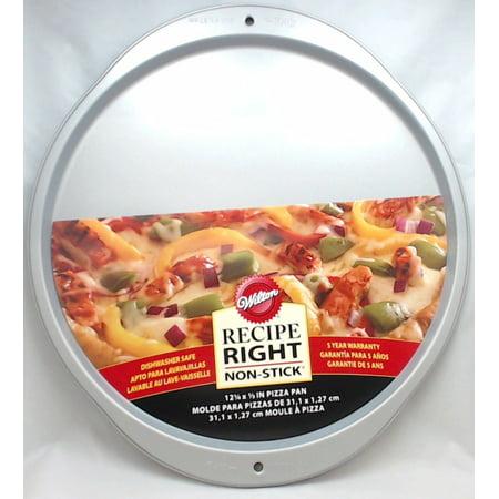 Wilton Industries 2105-969 Recipe Right Pizza Pan, 12.25-In. Pizza Stone Recipes