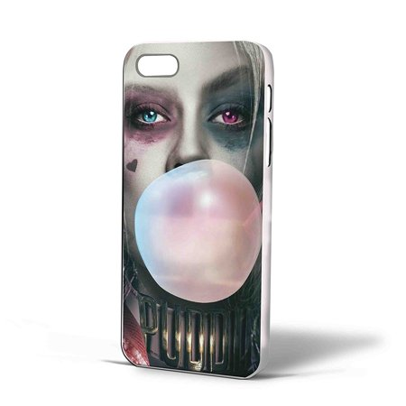 Ganma Harley Quinn Margot Robbie And Bubblegum Case For Iphone Case  Case For Iphone 5 5S Black