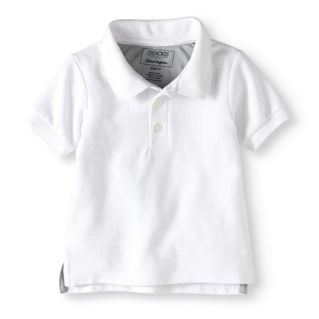 c40c92a9 Cherokee - Toddler Boys' Uniform Short Sleeve Cooling Polo Shirt -  Walmart.com