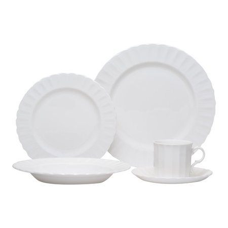 - Red Vanilla Yardley 5 Piece Place Setting, Service for 1