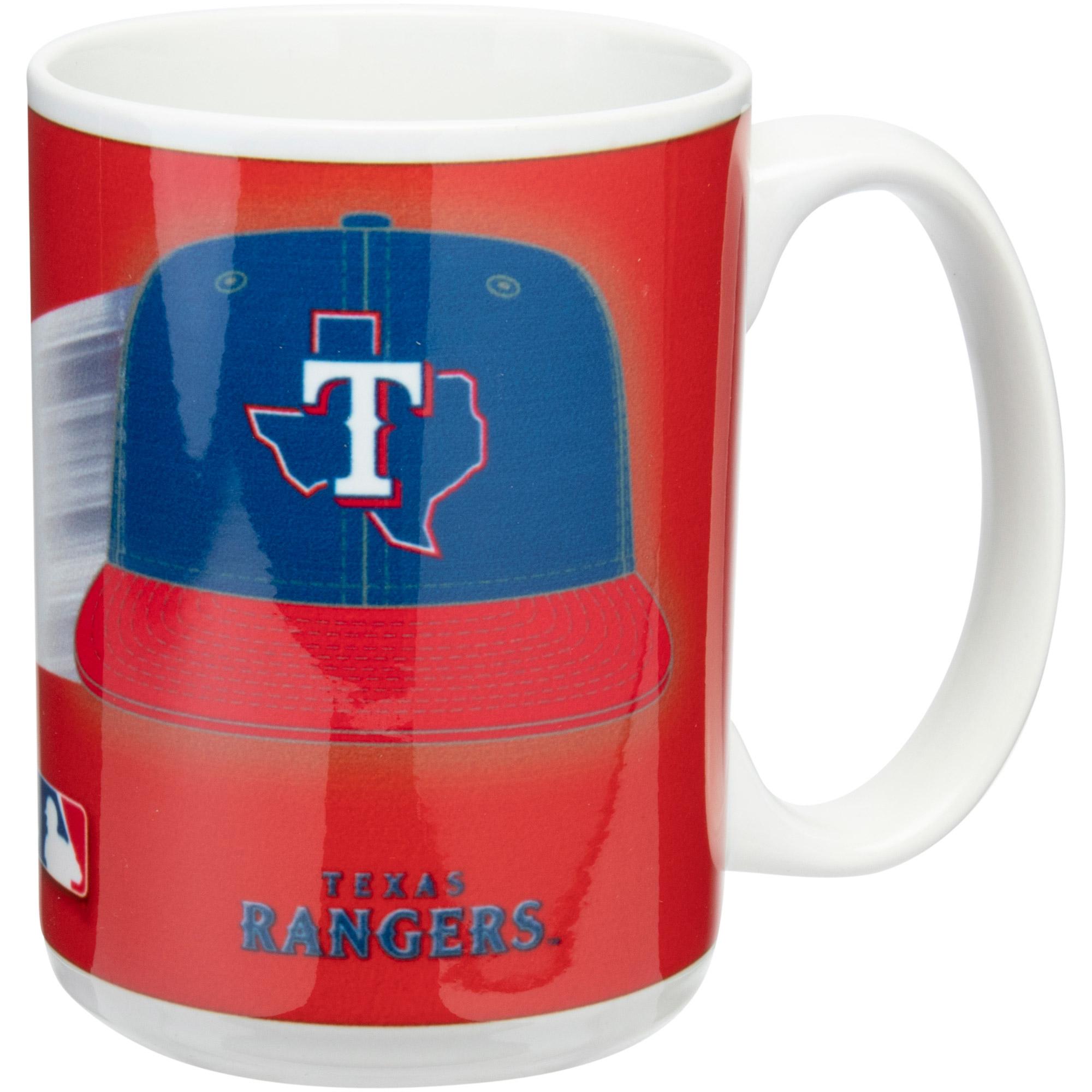 Texas Rangers 15oz. Team 3D Graphic Mug - No Size