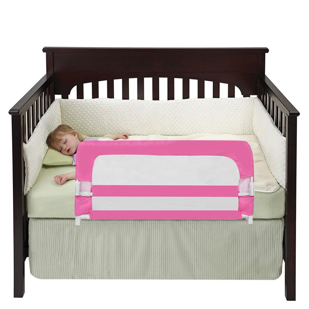 Kids Bed Rail Guardrail Child Safety Guard Bedrail Safe ...