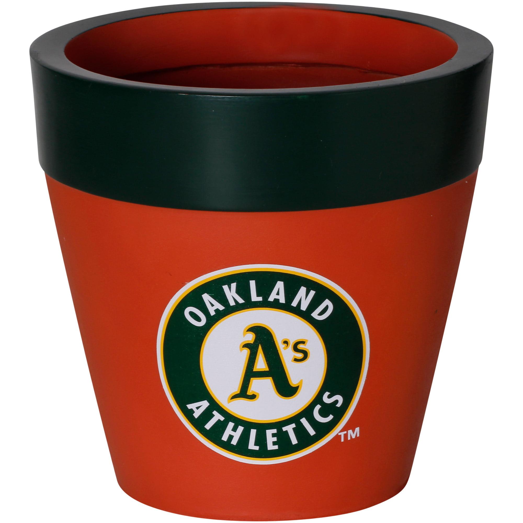 Oakland Athletics Team Planter Flower Pot - No Size