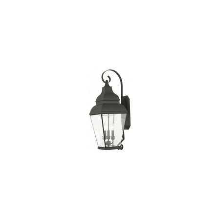 """Wall Sconces 3 Light Fixtures With Black Finish Hand Crafted Solid Brass Material Candelabra 28"""" 180 Watts"""