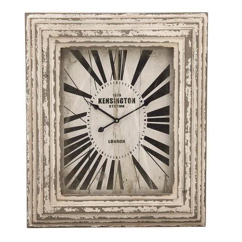 EC World Imports Kensington Station Weathered Classic Wall Clock by ecWorld