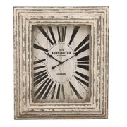 EC World Imports Kensington Station Weathered Classic Wall Clock