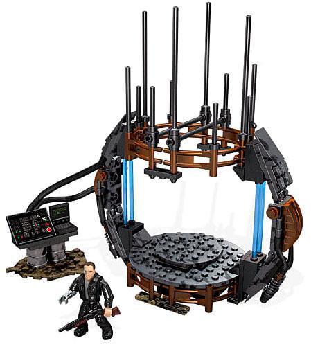 Terminator Genisys Time Machine Set Mega Bloks 38207 by