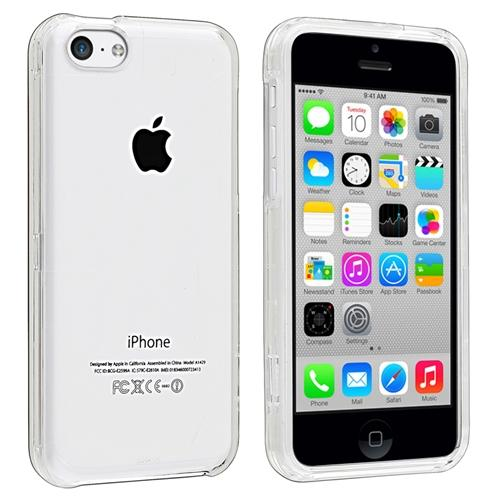 Insten Clear Crystal Hard Cover Transparent Case for Apple iPhone 5C