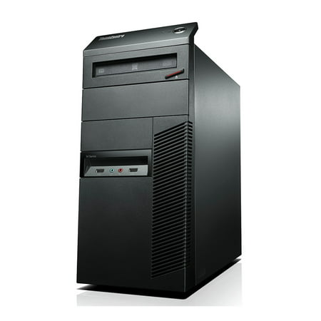 Refurbished - Lenovo ThinkCentre M91p, TWR, Intel Core i3-2100 up to 3.10 GHz, 4GB DDR3, 250GB HDD, DVD-RW, Win10 Home 64 - image 1 of 3