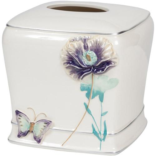 Creative Bath Garden Gate Ceramic Boutique Tissue, Lilac
