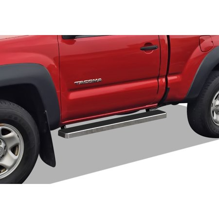 2005-2019 Toyota Tacoma Regular Cab Hairline Finish iStep 5 Inch Door to Door