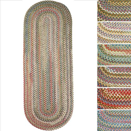 Charisma Indoor/Outdoor Oval Braided Runner Rug By Rhody