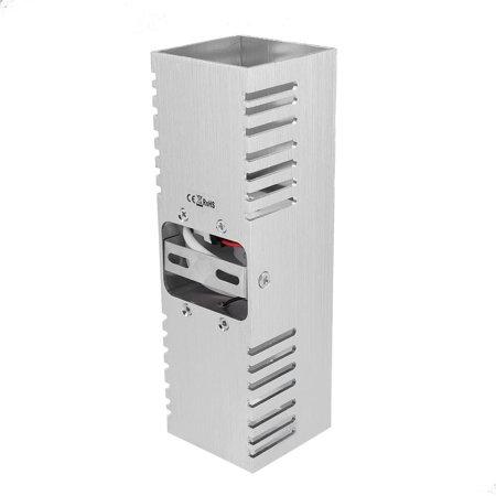 Ejoyous  Lumière blanche chaude en aluminium de lumière de mur de lampe de l'effet blanc chaud de 6W pour le décor d'éclairage intérieur, LED d'intérieur, lumière d'intérieur - image 8 de 12