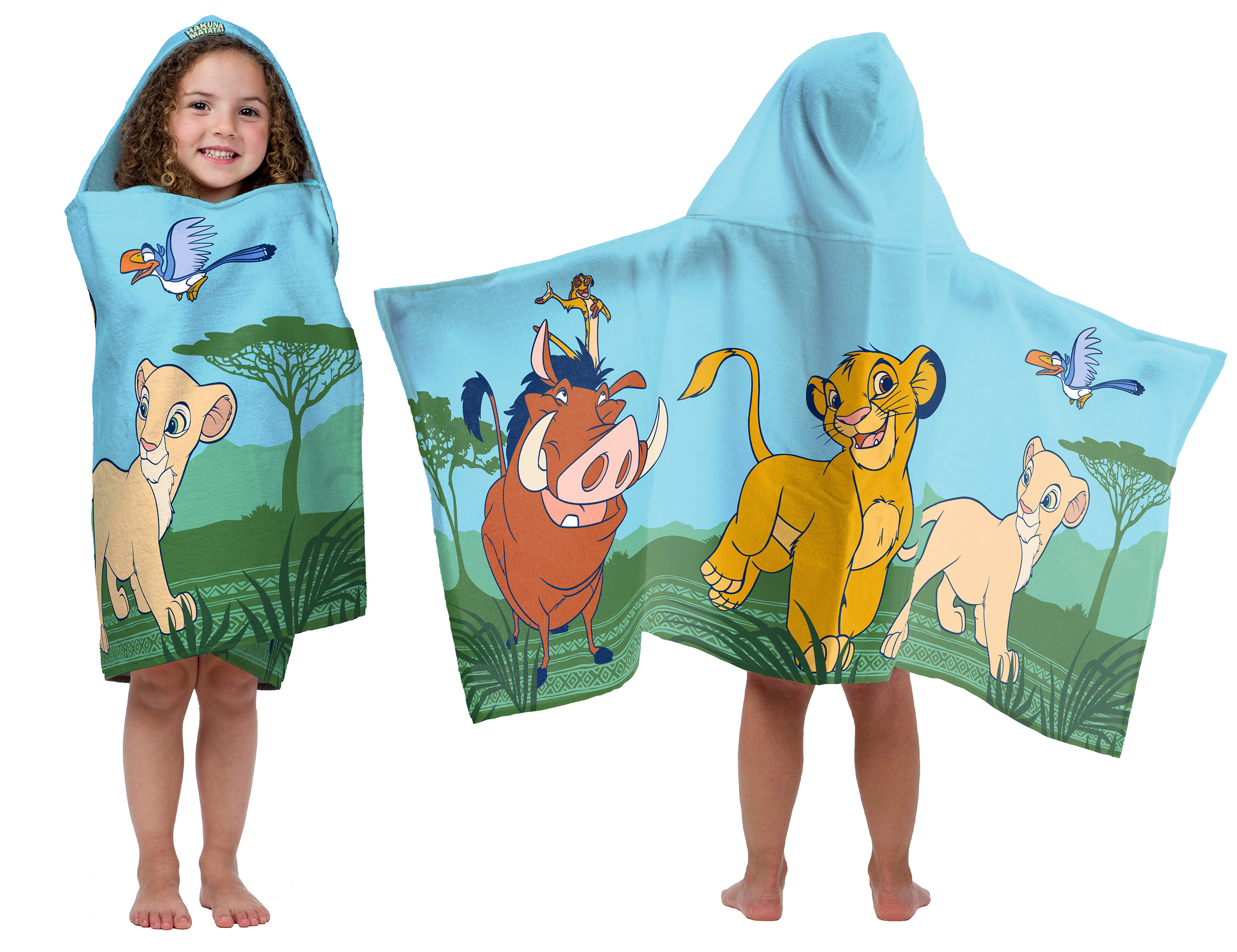 HOODED BATH TOWEL BABY BOY WILD CAT TIGER DESIGN NEW