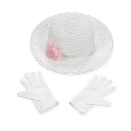 Fun Express Polyester Tea Party Hat Gloves Set](Tea Party Hats And Gloves)