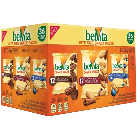 36 Brownie Bites - Product Of Belvita Bites Variety Pack (1 Oz., 36 Ct.) - For Vending Machine, Schools , parties, Retail Stores