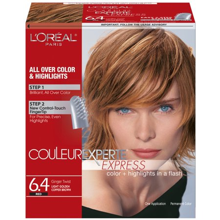 L\'Oreal Couleur Experte Hair Color, Light Golden Copper Brown ...
