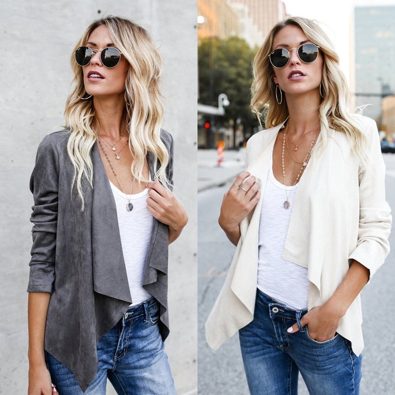 Ladies Womens Cable Chunky Tassel Knit Long Sleeve Front Open Waterfall Cardigan