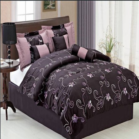 Clearance 7 piece comforter sets covington queen size - Queen size bedroom sets clearance ...