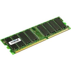 Crucial 1GB DDR SDRAM Memory Module - 1GB (1 x 1GB) - 333MHz DDR333/PC2700 - Non-ECC - DDR SDRAM - 184-pin