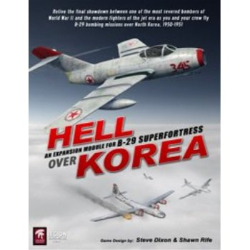 B-29 Superfortress Game (LEGION: Hell Over Korea Kit for B29 Superfortress base board)