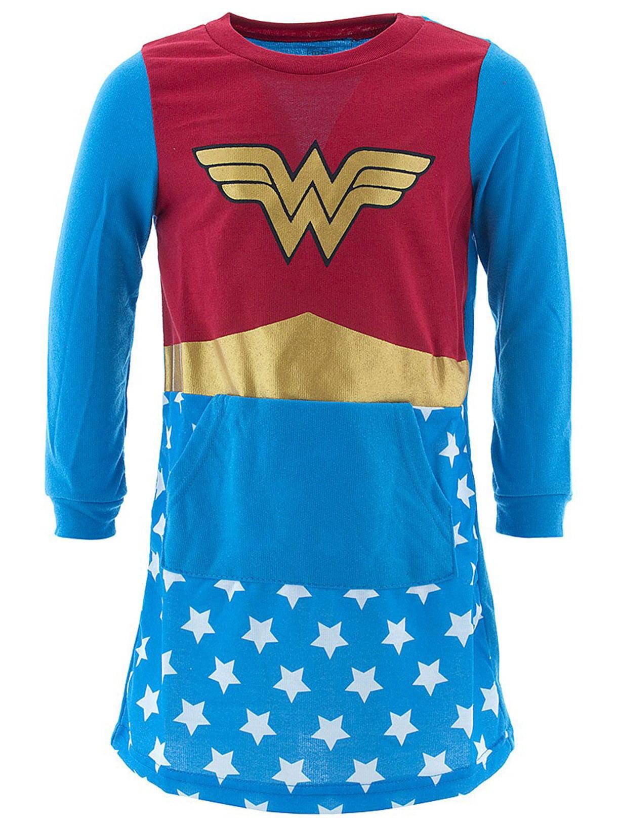 Blue Wonder Woman Girls Nightgown