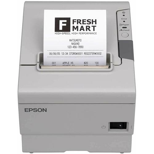 Epson - C31CA85081 - Epson TM-T88V Direct Thermal Printer - Monochrome - Desktop - Receipt Print - 300mm/s Mono - USB