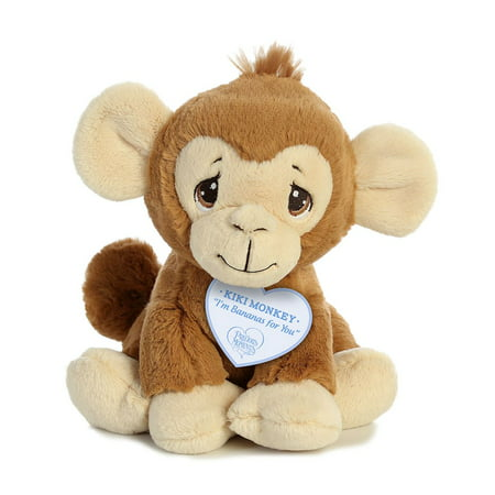 Kiki Monkey 8.5 inch - Stuffed Animal by Precious Moments (15768) (Puppy Monkey)