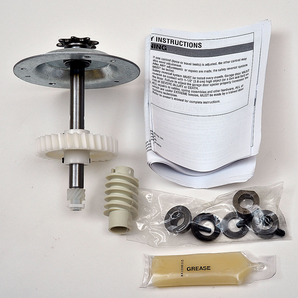 Liftmaster 41c4220a Gear and Sprocket Kit for Chamberlain, Sears, Craftsman and LiftMaster 1/3 and 1/2 HP Chain Drive Models