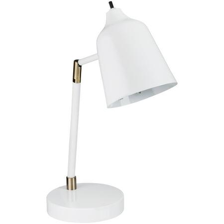 Better Homes and Gardens White Desk Lamp