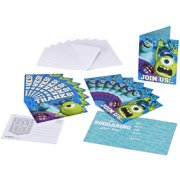 Monsters University Invite and Thank You Combo, 8-Pack, Party Supplies