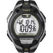 Men's Ironman Classic 30 Oversized Watch, Black Resin Strap
