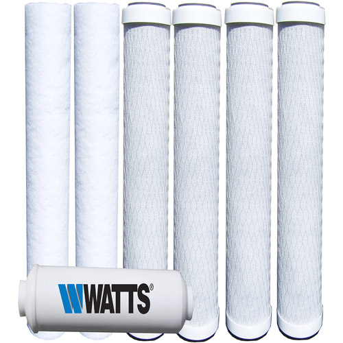 Watts Premier 5-Stage Reverse Osmosis Annual Replacement Filters, 7pk
