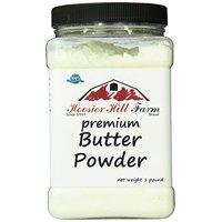 Hoosier Hill Farm Real Butter Powder, 1 lb plastic jar