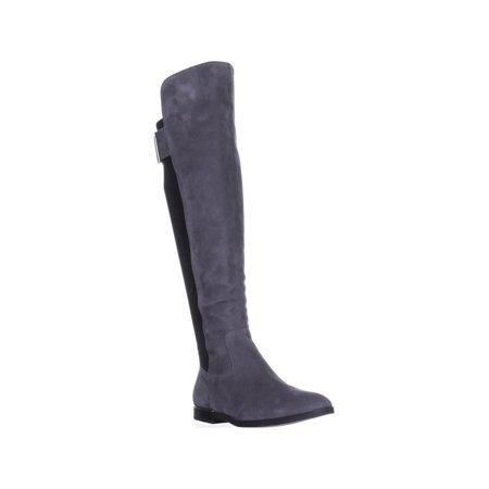3023b6d99e6 Calvin Klein Priya Wide Calf Knee-High Boots
