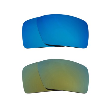 85420f3f6f Seek Optics - Best SEEK Replacement Lenses for Oakley Sunglasses EYEPATCH 2  Green Blue Mirror - Walmart.com
