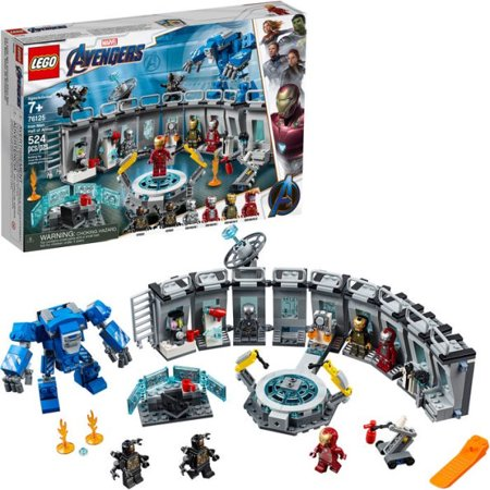 LEGO Marvel Avengers Iron Man Hall of Armor 76125 Building Kit - Tony Stark Action Figure