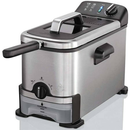 Farberware 3-Liter Filter Fryer, Stainless Steel