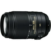 Nikon Nikkor AF-S 55-300mm f/4.5-5.6 ED VR High Power Zoom Lens, DX