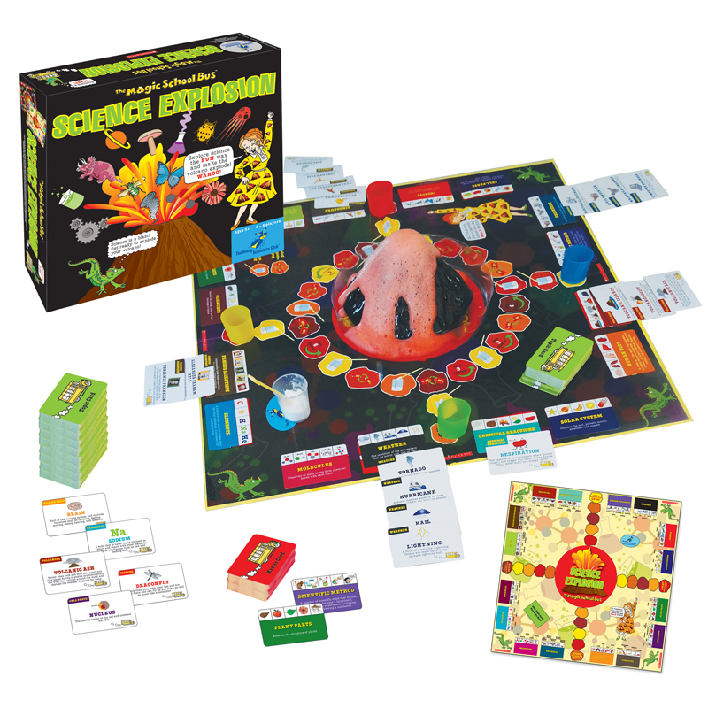 Young Scientist Club The Magic School Bus Science Explosion