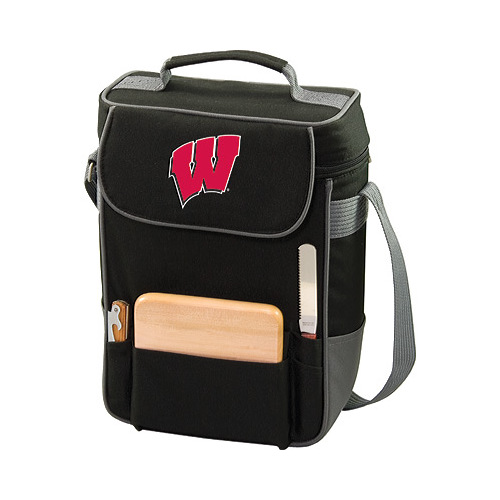 Picnic Time Duet Wisconsin Badgers Embroidered