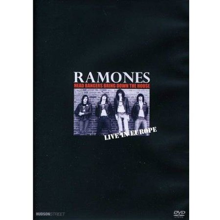 The Ramones: Live In Europe - Head Bangers Bring Down The House (Music DVD)