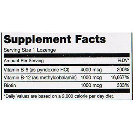 Maxi Santé Triple B - Pastilles vitamine B12 et B6 et biotine - Saveur de fraises - 90 - Chewies casher