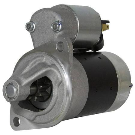 STARTER FITS JOHN DEERE TRACTOR 655 YANMAR ENGINE S114-653 S114-653A S114-653B AM878813